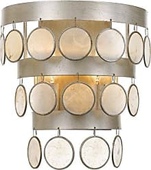 Crystorama 6002-SA Transitional Two Light Wall Sconce from Coco collection in Pwt, Nckl, B/S, Slvr.finish