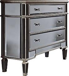 Elegant Lighting 3 Drawer Cabinet 42x16x36H SC