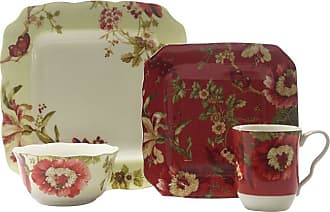 222 Fifth Lutece Mixed 16 Piece Dinnerware Set - 1029MX804A1G95