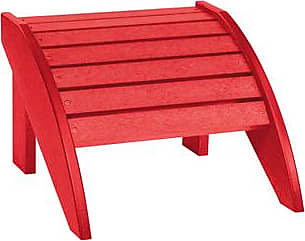 C.R. Plastic Products F01 Red Footstool