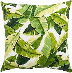 Jaipur Living Rugs Veranda Tropical Leaves Indoor Throw Pillow - PLP100073