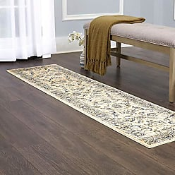 Home Dynamix Carlstadt Altansar Runner Area Rug 19x77, Traditional Distressed Beige/Gray