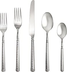Fortessa Solitaire 18/10 Stainless Steel Hollow Handle Flatware 20 Piece Place Setting, Service for 4