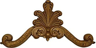 Hickory Manor House Plume Over Door Decor, Antique Gold