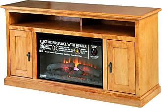 Forest Designs Mission Alder Fireplace TV Stand Unfinished Alder, Size: 72 in. - B4465- MS-72W-UA