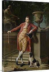 Bentley Global Arts Global Gallery Budget GCS-454798-1624-142 Pompeo Batoni Portrait of John Later 1st Earl Talbot Gallery Wrap Giclee on Canvas Wall Art Print
