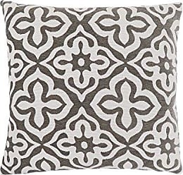 Monarch Specialties Motif Design 18 x 18 Dark Taupe 1 Piece Pillow