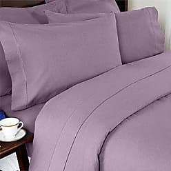 Elegant Comfort Luxury Soft 1500 Thread Count Egyptian Quality 4-Piece Sheet Wrinkle and Fade Resistant Bedding Set, Deep Pocket up to 16inch, Full, Lavender