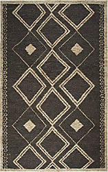 Rizzy Home Whittier Collection Jute Brown/Natural Geometric Area Rug 26 x 8