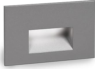 WAC Lighting LEDme 1-Light Horizontal Step and Wall Light in Graphite