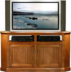 Eagle Furniture Coastal 56 in. Wood Panel Corner Entertainment Center - 72744WPHG