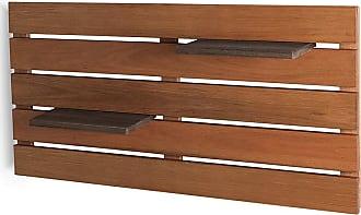 Mão & Formão Deck de Parede Horizontal - JatobáJatobá