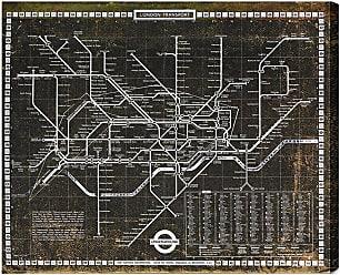 Hatcher & Ethan London Tube 1972 Canvas Art - HE10366_20X17_CANV_XHD_HE