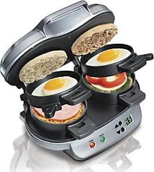 Hamilton Beach Dual Breakfast Sandwich Maker - Silver (25490A)