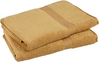 Home City Inc. Superior 100% Egyptian Cotton Solid Bath Sheet Set, Gold, 2-Piece