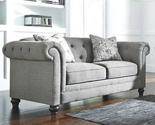 Ashley Furniture Ardenboro Loveseat, Charcoal