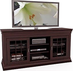CorLiving Sonax B-231-NCT Carson Extra Wide TV/Component Bench, 60, Dark Espresso