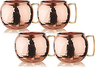 Old Dutch International OS499H Drinking Mugs, 32 oz, Copper