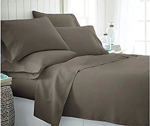 Home Collection IEH-4PC-CALKING-NAVY 4 Piece Ultra Soft Sheet Set Calking Navy