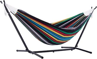 Ashley Furniture Patio Double Hammock with Stand, Multi