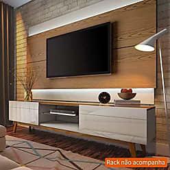 Imcal Painel Para TV 60 Polegadas Classic I Freijó com Off White