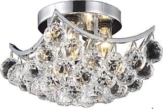 Elegant Furniture & Lighting Elegant Lighting Corona 9800 Flush Mount Light