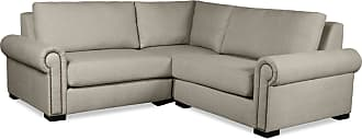 SOUTH CONE Chelsea Modular Right And Left Arms L-Shape Mini Sectional Sofa Charcoal - CHLS/AR3/CHARC