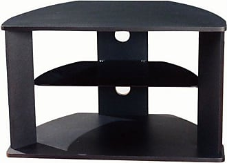 4D Concepts Corner TV Stand with Glass Shelf - 64935