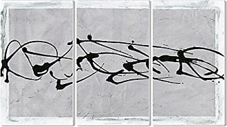 The Stupell Home Décor Collection The Stupell Home Decor Collection Low Frequency Abstract 3-Piece Triptych Wall Plaque Set