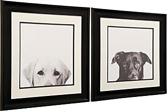 StyleCraft Stylecraft QA120011 Framed Print, Black/Brown/White, 2 Piece