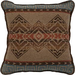 Wooded River Bison Ridge I Geometric Indoor Pillow - WD26970