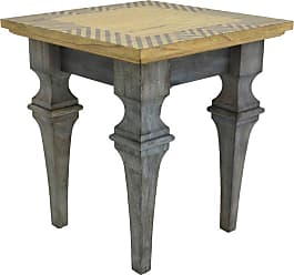 222 Fifth Rue MontMartre Rectangular Accent End Table - 7020GY010AVH51