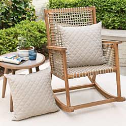 Belham Living Villa Heights Outdoor Toss Pillow - Set of 2 Natural Tan - M097-AC057-NATURAL TAN