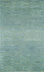 Capel Rugs Kevin OBrien Gave Rectangle Hand Tufted Area Rug, 3 x 5, Grey Azure
