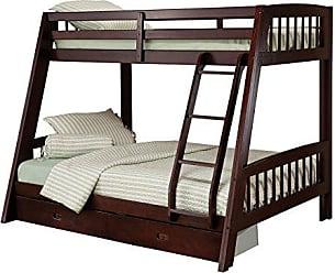 Hillsdale Furniture 1668BB Rockdale Bunk Bed, Twin Over Full, Espresso