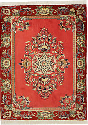 Nain Trading Authentic Keshan Rug 30x24 Beige/Brown (Wool, Iran/Persia, Hand-Knotted)