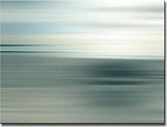 Ready2HangArt Ready2hangart Blur Stripes XXXIX Canvas Wall Art, 30 x 40