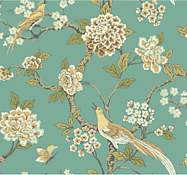 York Wallcoverings Ashford Toiles 27 ft. Fanciful Wallpaper - AF1901