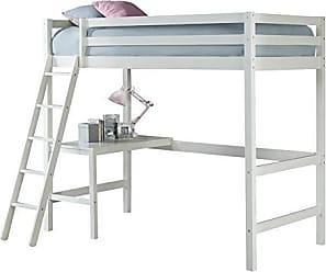 Hillsdale Furniture Furniture 2179-320 Hillsdale Caspian Twin Loft Bed, White