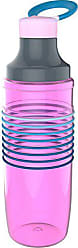 Zak designs 2235-R580 HydraTrak Water Bottles, 24oz, Magenta-Aqua