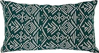 Varaluz Casa 421A02GN Tribal Lumbar Throw Pillow - Green