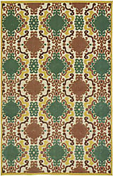 Kaleen Rugs Five Seasons Collection Gold Rug (5 x 76)
