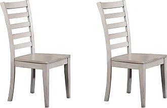 Winners Only Ladderback Hardwood Side Chair - Set of 2 - WIN656-1