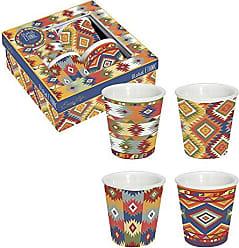 Multicolore 10 cm Easy Life 126CMGM Coffret 6 Tasses /à Caf/é Porcelaine