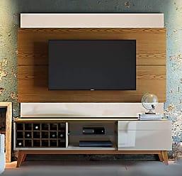 Imcal Painel Para TV 60 Polegadas Classic II Freijó com Off White