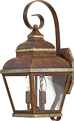 Minka Lavery Lighting 8262-161 2 Light Wall Mount in Mossoro Walnut with Silver finish
