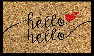 Dynamic Rugs Aspen Hello Hello Door Mat - AS232971130