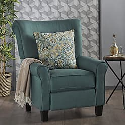 GDF Studio Christopher Knight Home 302304 Thelma Recliner Dark Teal