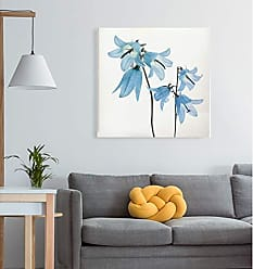 WEXFORD HOME Gorgeous Blue IV Gallery Wrapped Canvas Wall Art, 32x32