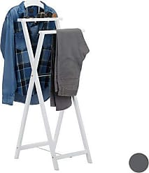 Design Garderobe Kleider Haken Metall Ständer Flur Herren Diener Jacken Ablage